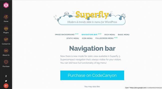 Mobile-Friendly WordPress Plugin Superfly