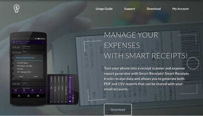 Smart Receipts Receipt Scanner
