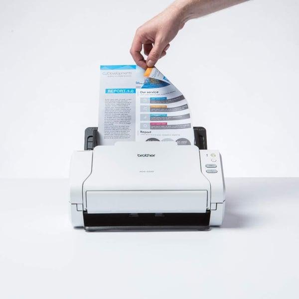 Brother ADS 2200 receipt scanner