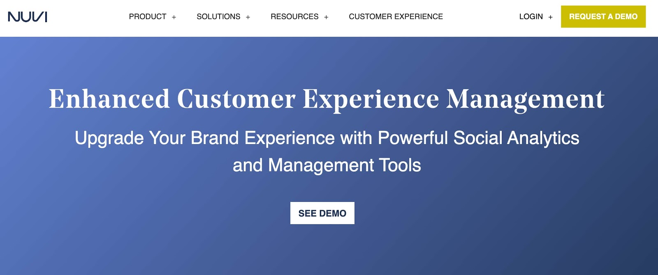 nuvi Social Media Management Tool für Agenturen