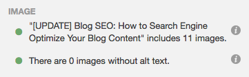 the seo panel for images in hubspot