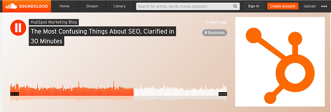 HubSpot Podcast episode about SEO featuring Victor Pan and Matt Barby