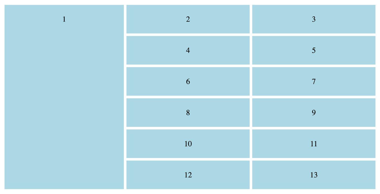 a grid css sidebar
