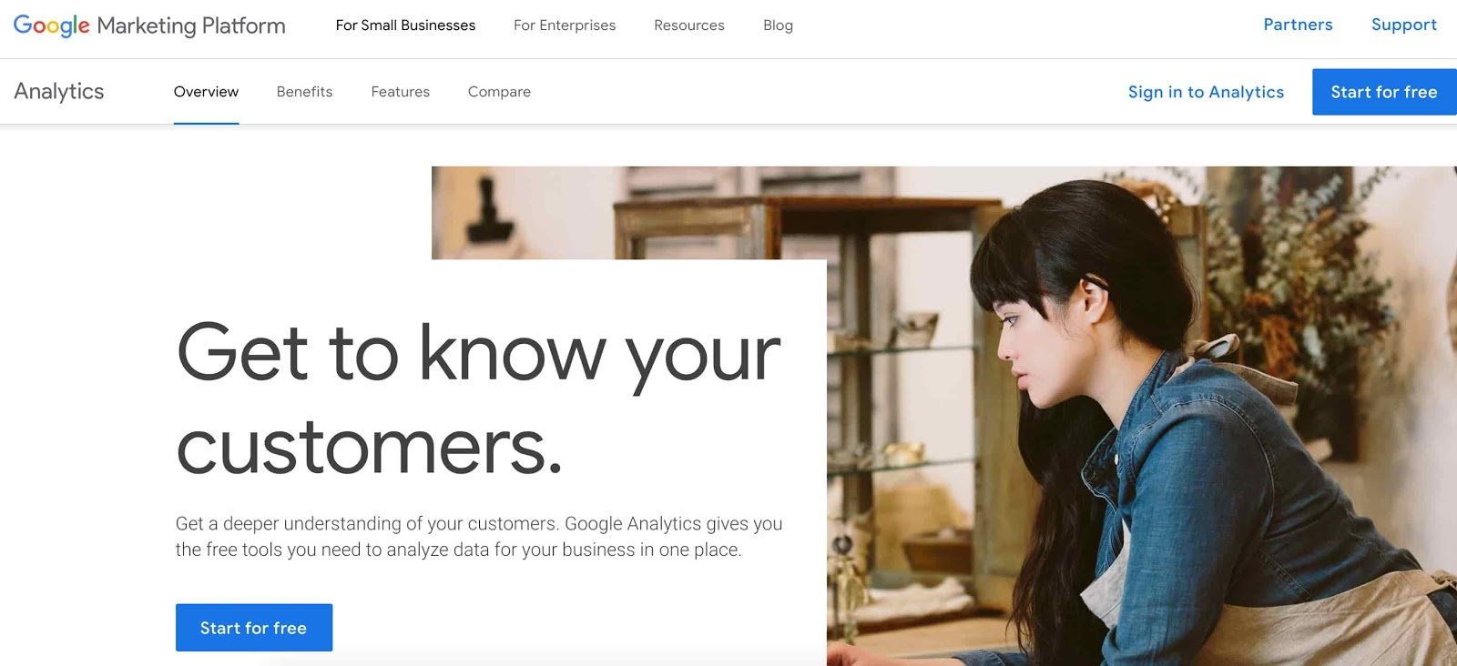 Custom reporting tool from Google Analytics