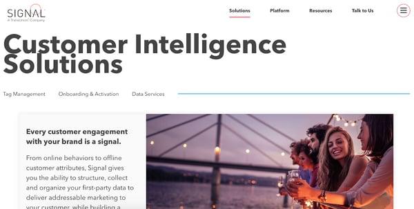 signal customer intelligence software