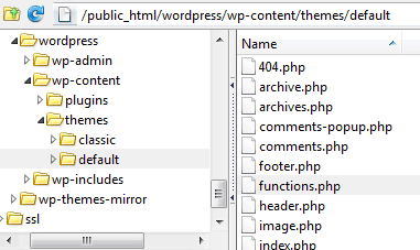 Edit function.php file using FTP to copy and paste wp_set_password function to change wordpress password