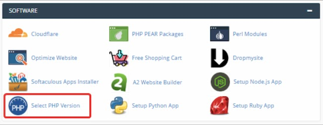 Upgrade PHP version in a2hosting's cpanel to resolve HTTP error when uploading images to WordPress