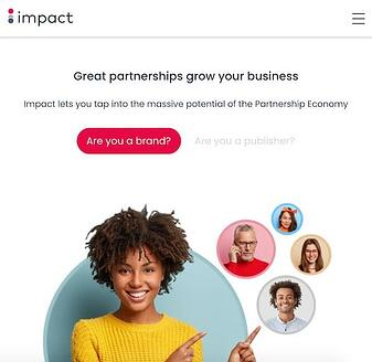 Impact performance marketing tool