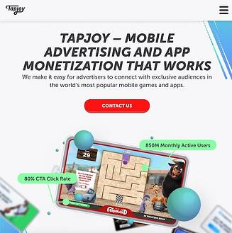 TapJoy performance marketing tool