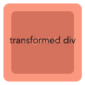 demonstration of the CSS translate Z effect