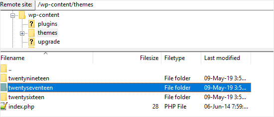 FTP Client Example
