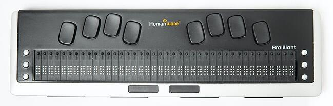a refreshable braille display device to improve screen reader accessibility for users with visual impairments