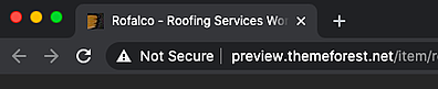 Not secure warning in Google Chrome marks HTTP site without SSL certificate