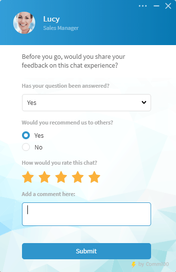 live chat for improved customer satisfaction