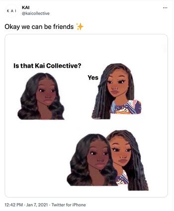 meme marketing example by Kai Collective
