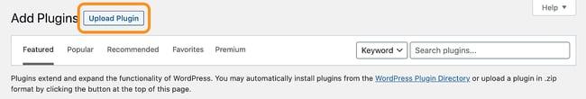 Monstroid Theme Installation: Upload plugin