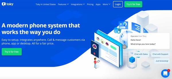 toky sales dialer software