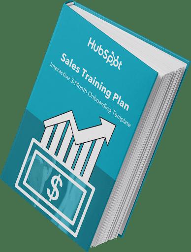 HubSpot Sales Training Plan interactive onboarding template