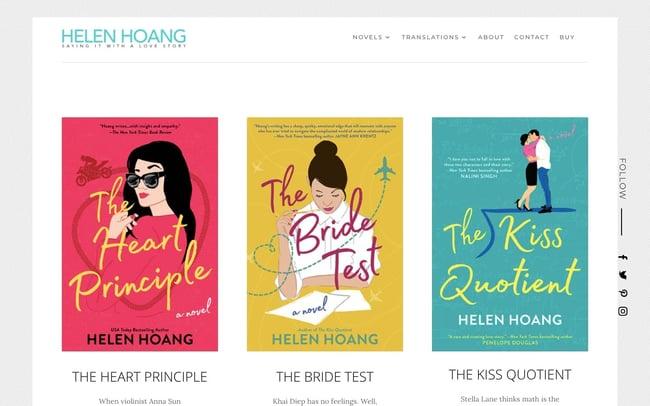 best author website: Helen Hoang