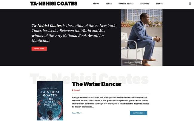 best author website: Ta Ne-hisi Coates