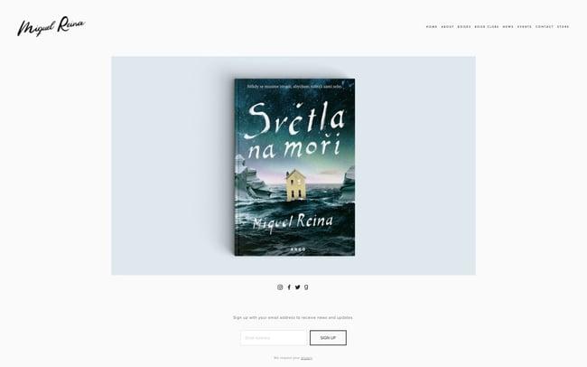 best author website: Miquel Reina