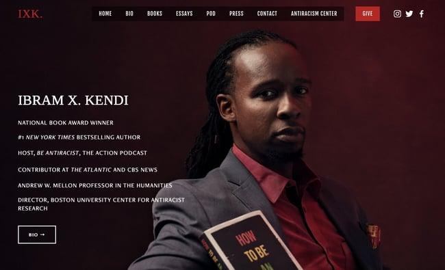 best author website: Ibram X Kendi