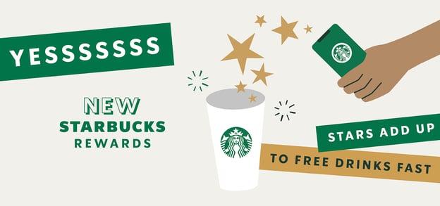Starbucks rewards point system loyalty program