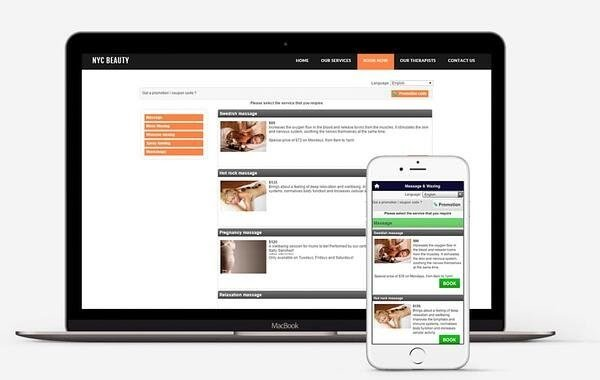 Bookeo appointment scheduling software interface
