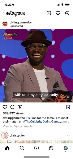 Instagram feed video.