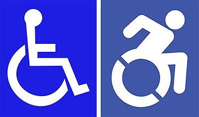 revised wheelchair symbol