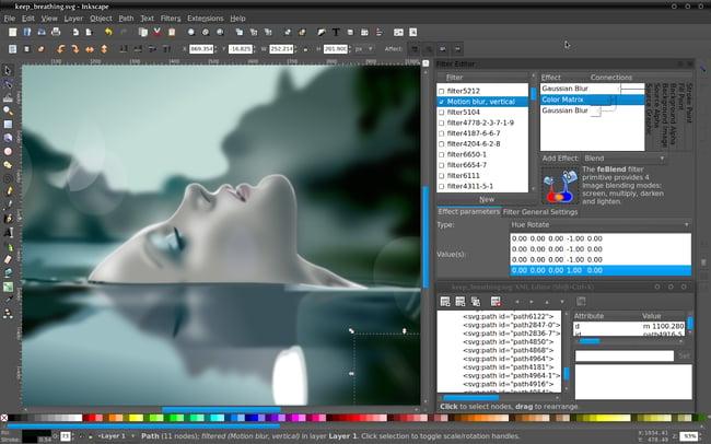 Inkscape Free Adobe Illustrator Alternative