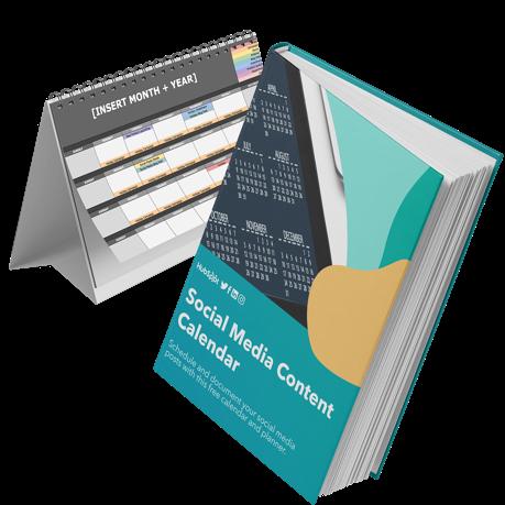 social media content calendar templates for Content Marketing from HubSpot
