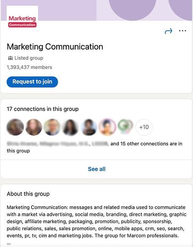 How to join LinkedIn groups.