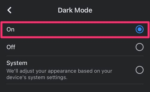 Facebook offers toggle button for dark mode, which will be a huge website development trend in 2021