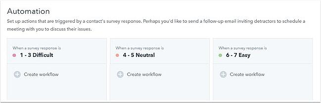 how to create a feedback form hubspot add automation