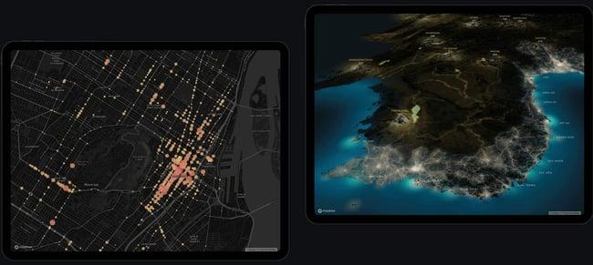 best free apis: mapbox example