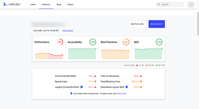 Accessibility used as ranking factor in Google's Core Web Vitals