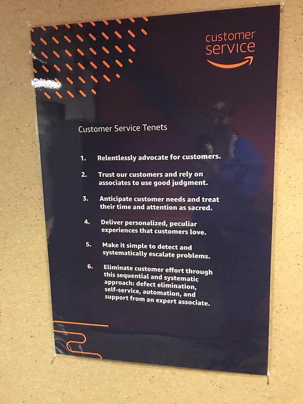 Amazon-service-tenets