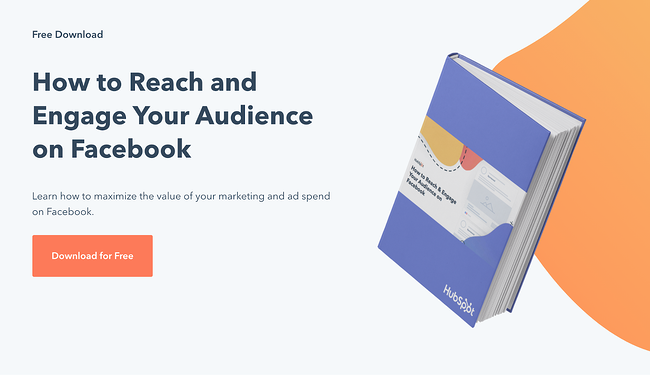 Example of a HubSpot Ebook and White Paper Landing page