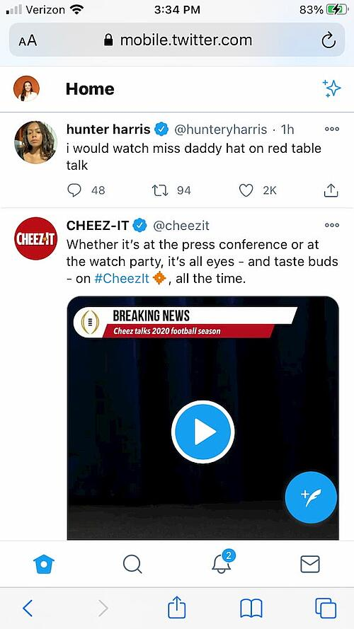Twitter web app example