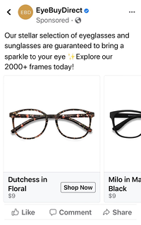 Eyebuydirect predictive marketing example