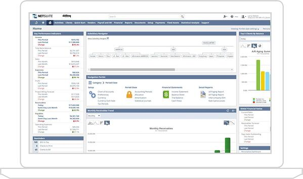 Oracle NetSuite financial software