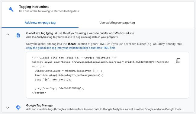 wordpress google analytics: tracking code for google analytics