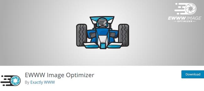 download page for the wordpress image optimization plugin EWWW Image Optimizer
