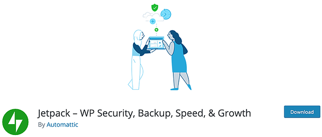 product page for the wordpress security scan plugin jetpack