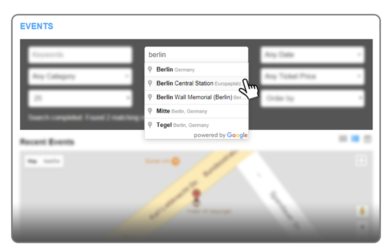 Google Maps add-on for WP Event Manager plugin review