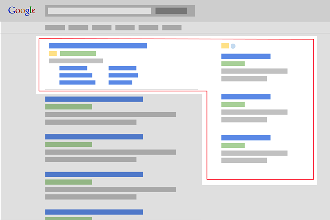 google s removing right side ads but how will it impact organic