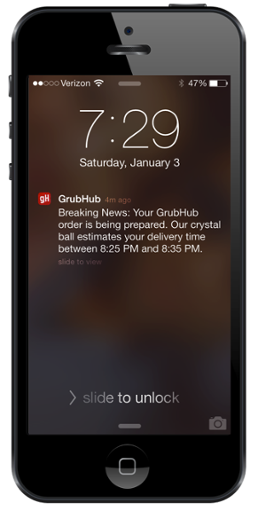 dating apps push notifications