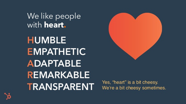 HEART Culture Code Slide