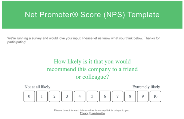 NPS Example